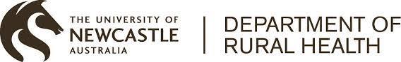 University of Newcastle Department of Rural Health Logo