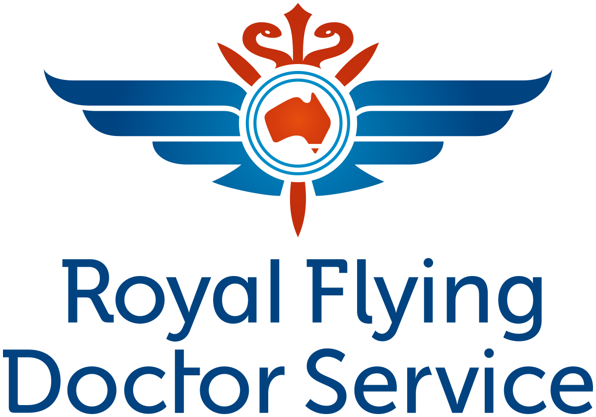 The Royal Flying Doctor Service Victoria Logo