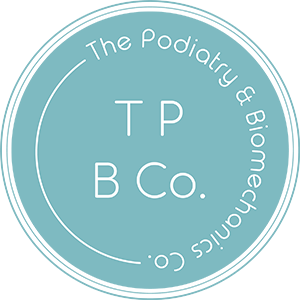 The Podiatry & Biomechanics Co. Logo